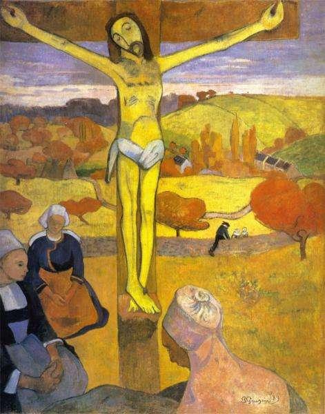 Cristo Giallo - Cristo Giallo di P. Gauguin (5×5)