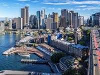 view of sydney - australijskie miasto sydney