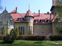 le palais à Rogach - Piękne miejsca na ziemi lubuskiej