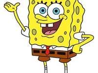 Contes de fées SpongeBob Squar - Ulubina bajkowa postać mojego syna. Amerykański série animowany stworzony przez biologa morskiego