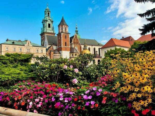 Castelo Real de Cracóvia Wawel - Castelo Wawel em Cracóvia (10×10)
