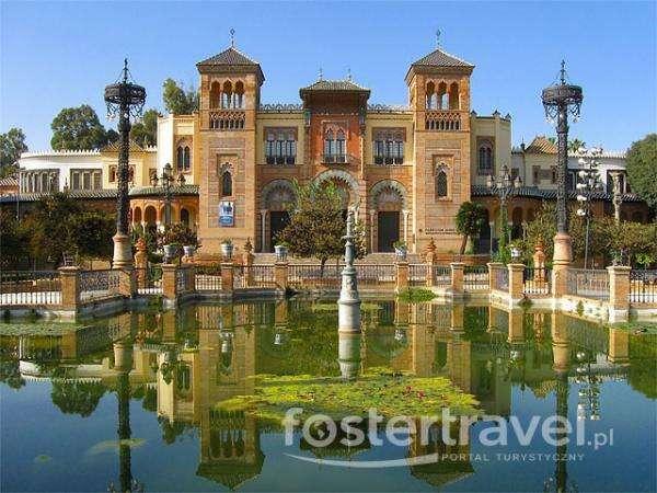 Parque e palácio de Maria Luisa quebra-cabeça online