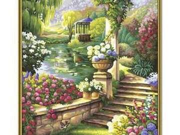 παράδεισος κήπος - παράδεισος κήπος, βλάστηση, λουλούδια