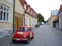 Toppen Gotland - Strada din orașul Toppen, Gotland, Suedia