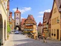 Ciudad alemana - hermosa ciudad romantica