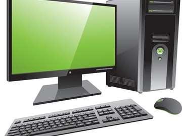 Computadora de escritorio - Arregle fragmentos dispersos de la imagen juntos. ¿Qué muestra la imágen?