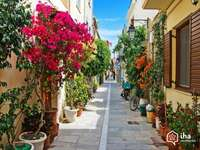 une ancienne rue en Crète