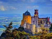 Portugalia, castelul de la Pena - Portugalia, castelul de la Pena