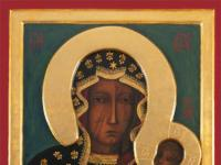 MB Częstochowska - famous painting of the Mother of God