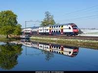 Szczecin-Świnou route train - Szczecin - Świnoujście