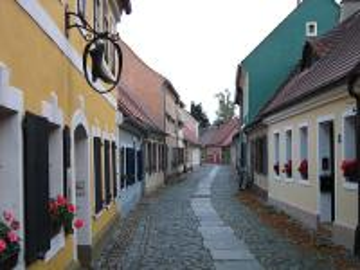Biecz małopolska - Uliczka w zabytkowym miasteczku Biecz w małopolsce