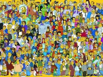 les Simpsons - Série d'animation américaine pour le grand public, inventée par Matt Groening.