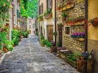 Тоскана, село, улица - Тоскана, село, улица