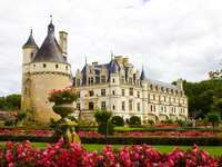 Castles on the Loire in France