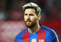 Football player Lionel Messi - An Argentine footballer who plays as a midfielder or striker at the Spanish FC Barcelona and the Arg