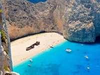Řecká pláž - moře, řecká pláž