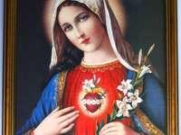 Matka_Boza - Икона на Божията майка - пъзели за деца