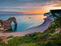 Spiaggia del Regno Unito, mare