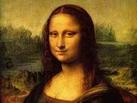 Monna Lisa Leonardo da Vinci - Il dipinto più famoso al mondo. Fu fondato all'inizio del XVI secolo (intorno al 1503-1506) ed