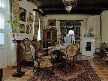 Cour intérieure XIX siècle - Cour intérieure du XIXème siècle