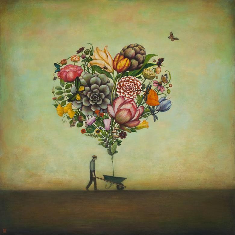 Wielki serce - Obraz przedstawiający wielkie serce (9×9)