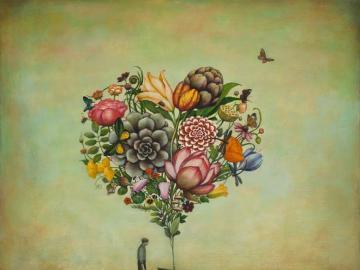Big heart - An image showing a big heart
