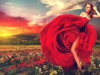 Танцуваща жена - Дама в червено - Крис де Бърг