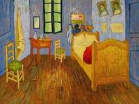 Night at van Gogh - Vincent Van Gogh, Van Gogh's Room in Arles