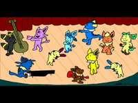 eeveelots are dancing