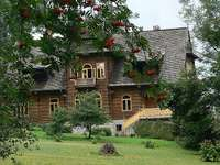 Huis in Zakopane - Huis in Zakopane onder de lijsterbes