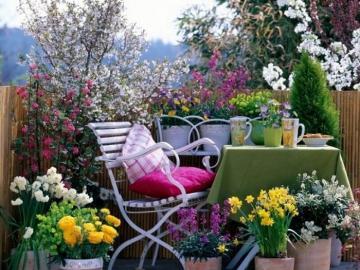 Un coin salon dans le jardin - Un coin salon dans le jardin