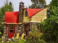 Cabană la grădină