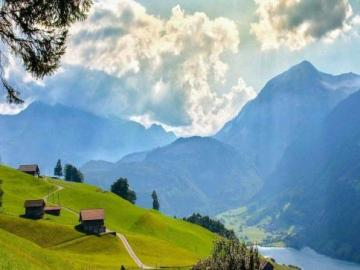 Switzerland - Switzerland is a beautiful place. A wonderful country and culture prevailing in it. Picture showing