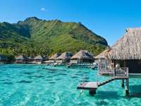 semester i tropikerna - Semester i tropikerna, bungalows