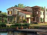 Villa i trädgården vid sjön - Villa i trädgården vid sjön