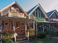 Ωραία σπίτια με βεράντα - Ωραία σπίτια γειτονιάς με βεράντα