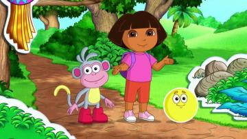 Dora meets the world - Dora is a little traveler with a big heart who never part with her backpack, map and a lovely monkey