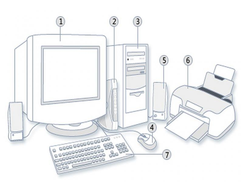 Számítógép készlet - Számítógépes játékkészlet gyermekek számára (3×2)