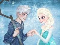 Elsa och Jack - Elsa är den äldre dotter till kung och drottning Arendelle, som har kraften att skapa is och snö.