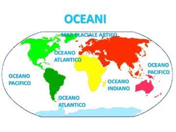 ocean breeze - riordina il puzzle posizionando gli oci sul planisfero