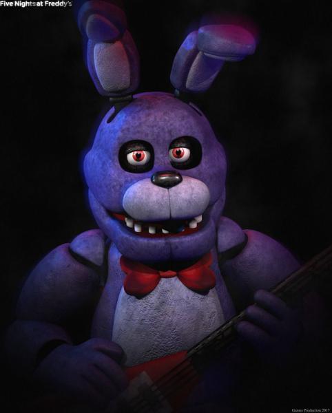 Fnaf Bonnie - Five Nights at Freddy's 3 to kolejna odsłona cyklu nietuzinkowych survival horrorów, w których gracze obejmują posadę nocnego stróża w okrytej złą sławą pizzerii, opanowanej przez animatr (6×8)