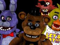 "fnaf five nights at freddy's - Five Nights at Freddy's to pierwsza gra z serii ""Five Nights at Freddy's"" z gatu"
