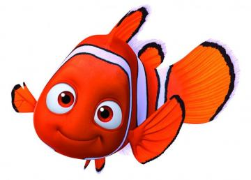 "Nemo - where is Nemo - Nemo - the hero of the Pixar and Walt Disney Pictures fairy tale with the title ""Where is Nemo?"