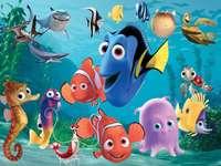 Намиране на Немо - Филмът е за отвличането на малка риба на име Немо. Баща