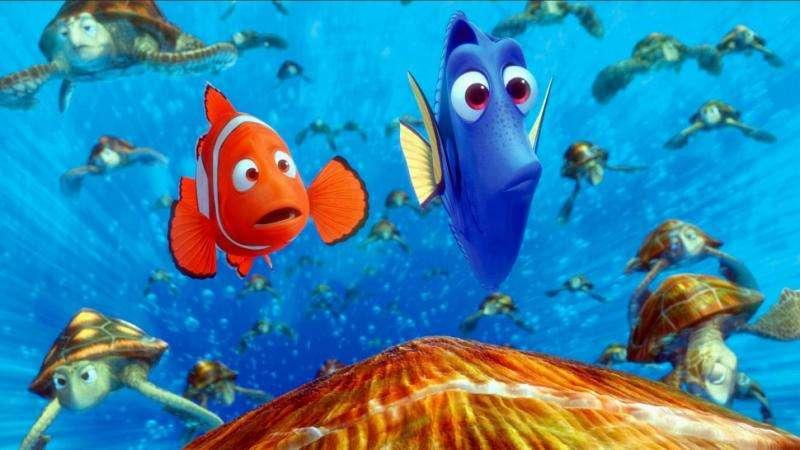 Nemo - waar is Nemo - Waar is Nemo? (Finding Nemo) - Amerikaanse animatiefilm uit 2003 van Pixar en Walt Disney Pictures, geregisseerd door Andrew Stanton en Lee Unkrich. De film geproduceerd met behulp van computer graphi (4×2)