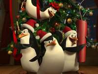 Christmas penguins from Madaga - The film tells the story of four penguin commandos - an eccentric strategist Kowalski, a specialist