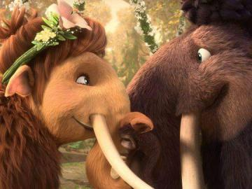 Ice Age - a story about the adventures of three heroes: Mammoth Manfred, colloquially known as Mańkiem, sloth
