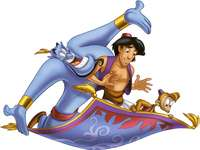 Aladdin en Genie