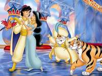 Aladdin a Jasmine