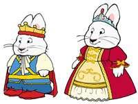 massimo e rubino - Maks è un coniglio e vive in una città di conigli. Ama fare casino e malizia. La sorella maggiore,